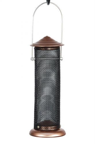 Brushed Copper Mini Niger Feeder Stylish Decorative