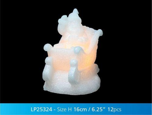 Christmas Magic Led Sleigh Xmas Decorative Light Gift Ornament