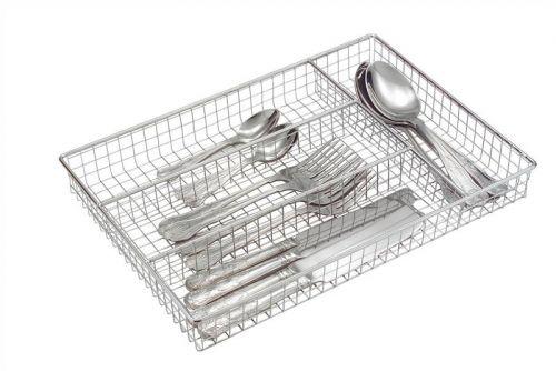 Roma Chrome Cutlery Tray