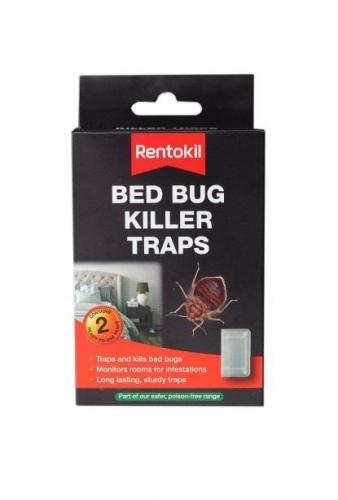 Pack of 2 Rentokil Bed Bug Pest Killer Traps