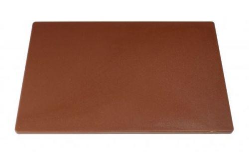 Heavy Duty Large Chopping Board Brown