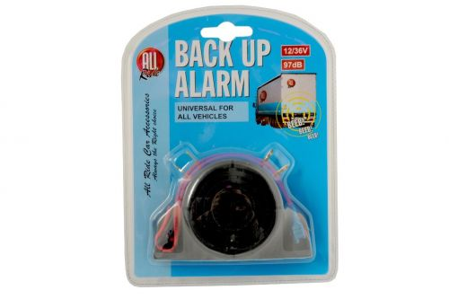 12/36V Back Up Alarm 97dB Universal for all Vehicles Car Van Lorry