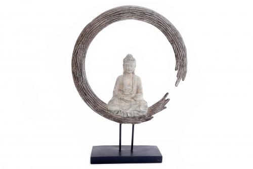 62.5cm Buddha Sculpture Ornament Home And Garden