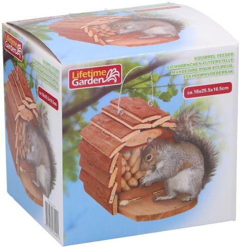Squirrel feedhouse16x16x13 Nice Garden Decoration