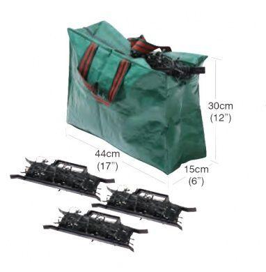 Christmas Lighting Storage Bag Polyethylene Green