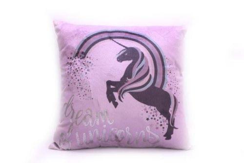 40X40Cm Lightup Led Unicorn Cushion Pillow Sofa Bed Decoration Plush