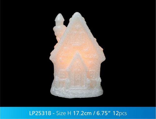Christmas Magic Led Cottage Xmas Decorative Light Gift Ornament