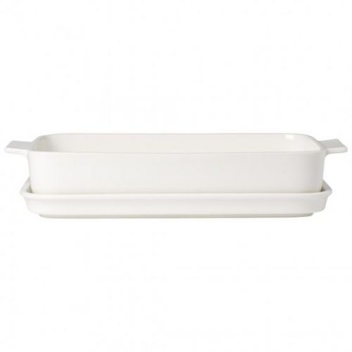 Villeroy And Boch Rectangular Baking Tin With Lid Premium Ceramic
