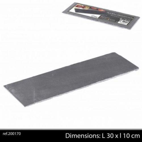 Ardoise Tableware Serving Platter 30x10cm Starter Slate Plate