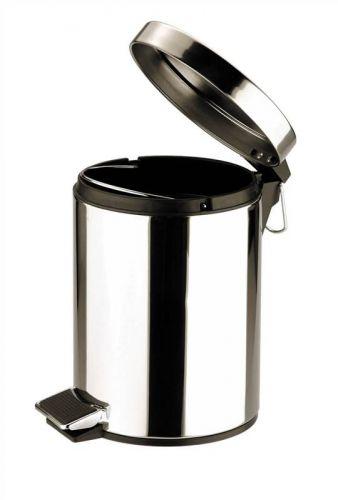 5L Stainless Steel Pedal Bin