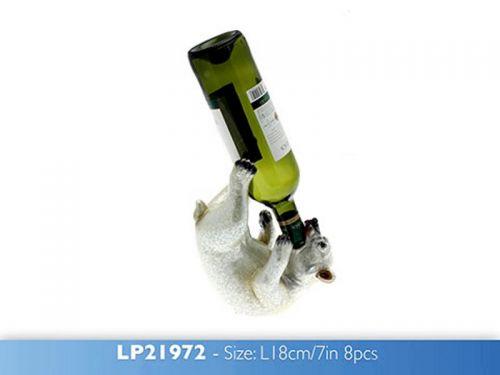 Polar Bear Wine Bottle Holder Ornament