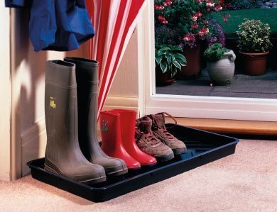 Boot Tray Black Plastic