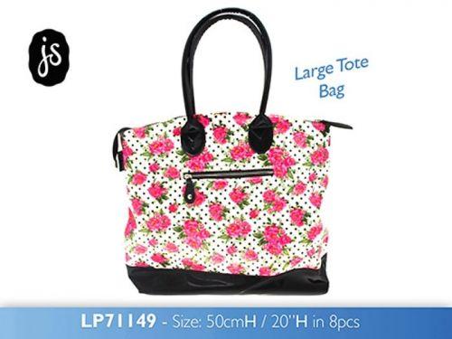 Large Tote Bag Ladies Women Designer Shoulder Handbag By Jessie Steele