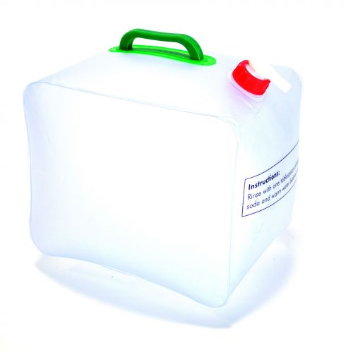 15 Litre Folding Water Carrier Storage PVC