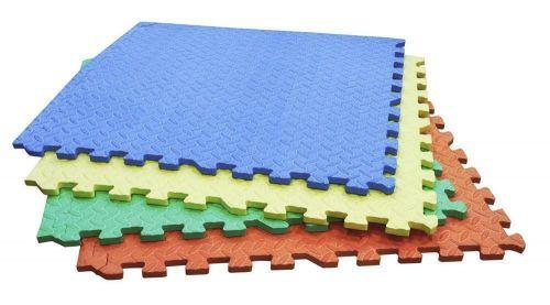 4PC Coloured inter locking floor mats 60cm coloured