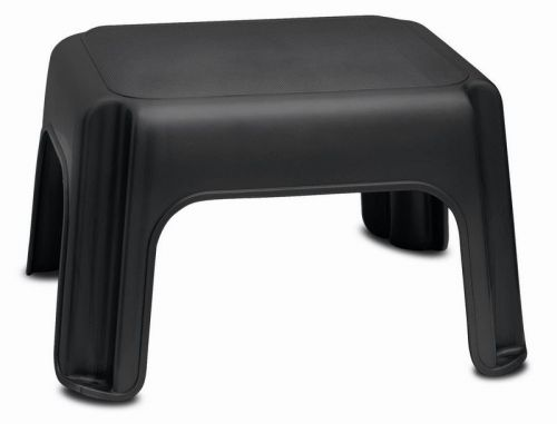 Heavy Duty Plastic Step Stool Home Kitchen Black Colour