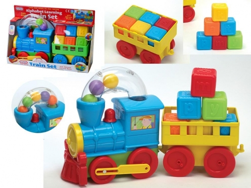 Alphabet Learning Train Set With Trailer