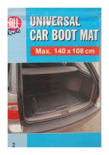 140cmx108cm Universal Car Boot Mat Rubber Liner Black Protector
