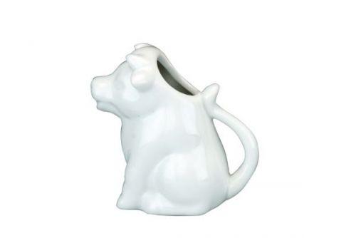 Jug Cow Design Ceramic Cream Can Be Used for Serving Milk Cream