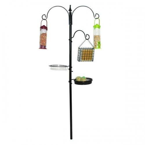 190cm Metal Garden Wild Bird Care Traditional Feeding Station