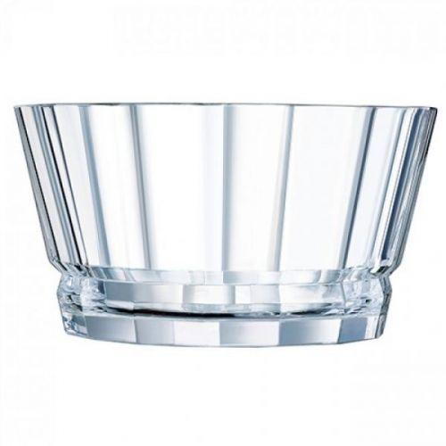 Cristal d'Arques 22.5 cm Macassar Transparent Salad Bowl