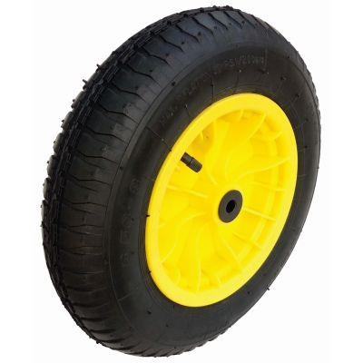 14 Inch Pneumatic Wheel with 1 Inch Centre for Wheelbarrow