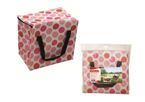 Spotty Cool Bag Food Drink Lunch Insulated Ice Cooler Box Camping Picnic