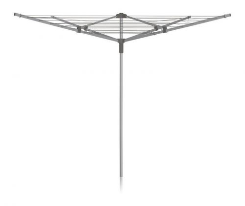 ADDIS 40m 4 Arm Rotary Airer Outdoor Dryer