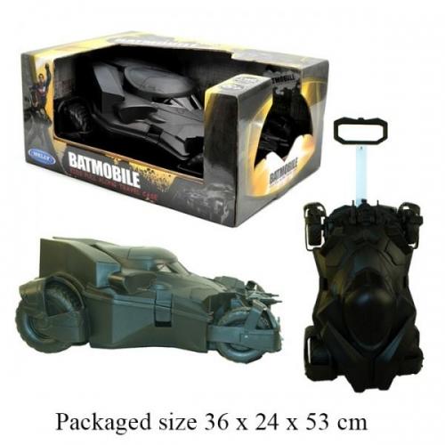 Kids Travel Suitcase Batmobile