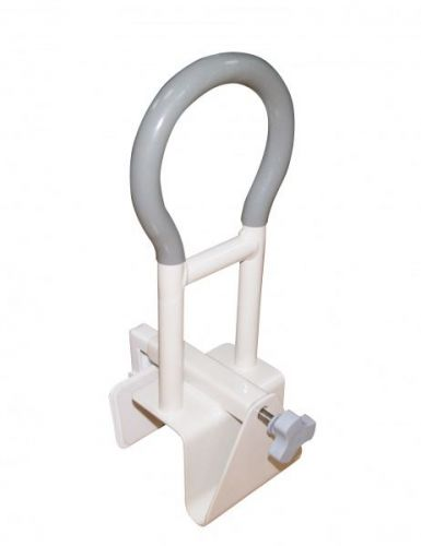 Bath Rail with Anti Slip Handle With Non-Skid Rubber Pads to Protect the Tub Wall