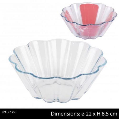 Borcam Glass Pie Dish D22Cm