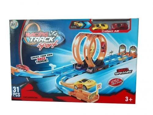 31 Pcs Double Loop race Track Sport