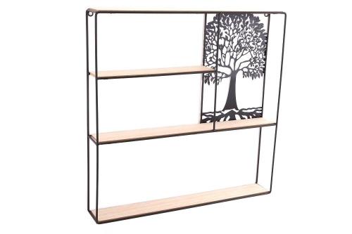 50x50cm Tree of Life Shelf Unit Home office