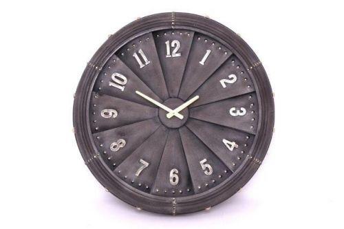 62Cm Jet Propeller Shape Metal Wall Clock Home Decoration