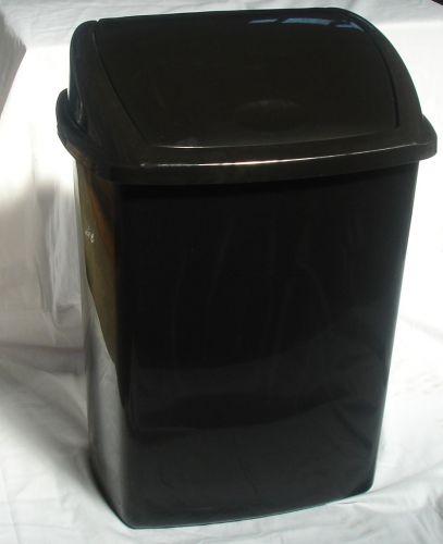 40 ltr Plastic Swing Lid Dustbin Household Kitchen