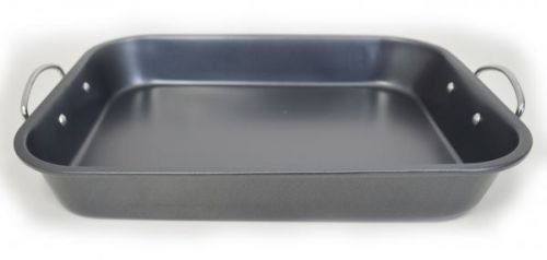 Colours Non Stick Roaster And Rack Red Tray