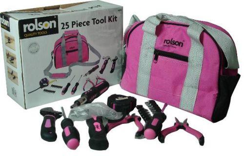 25 Piece Lady Tool Kit Colour Box
