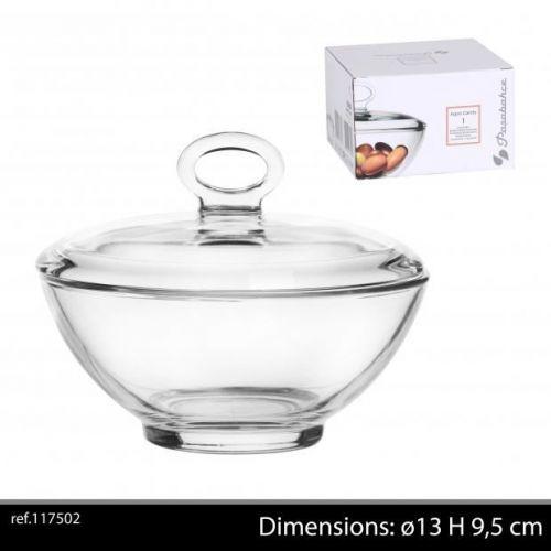 Passabache 13 Cm Glass Bowl With Lid