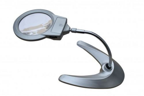 Magnifying Table Lamp LED For Reading Craft Multi Purpose Activity
