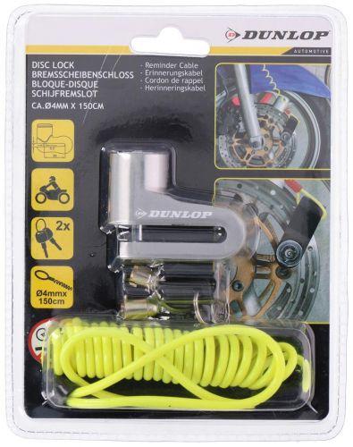Dunlop Disc brake lock engine lock with Reminder cable