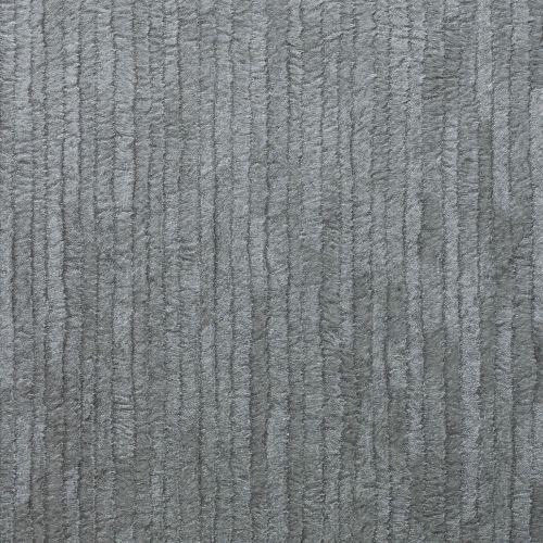 Crown Bergamo Leather Texture Silver Dark Grey Wallpaper