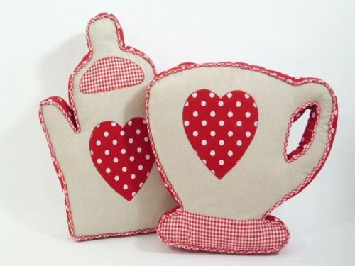 Cup / Teapot Shape Decorative Cushion for Sofa Living Room