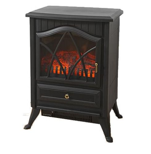 1.8kW Traditional Style Log Burning Effect Electric Stove