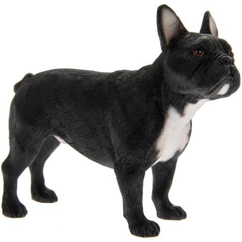 Best Breed Dog Standing French Bulldog Black Ornament