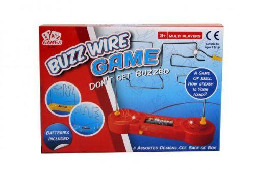 Buzz Wire Skill Testing Maze Game Hand Steady Play Fun