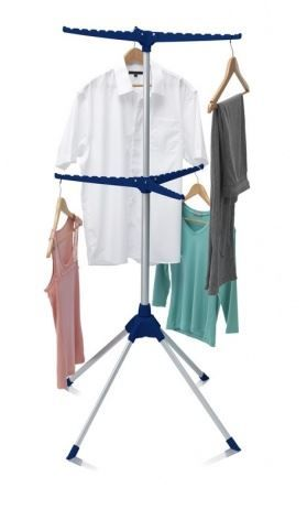 ADDIS 6 Arm Ironing Tidy and Airer Indoor Hanger Stand