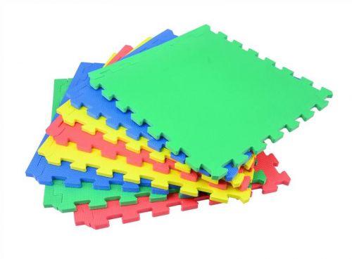 8Pc Interlocking Cushion Floor Mat Set