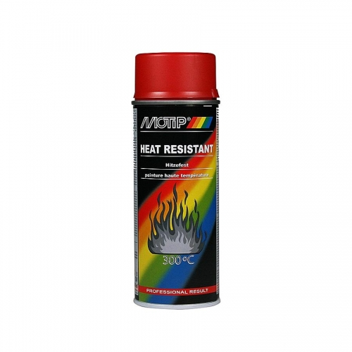 Heat Resistant Paint Red 400ml