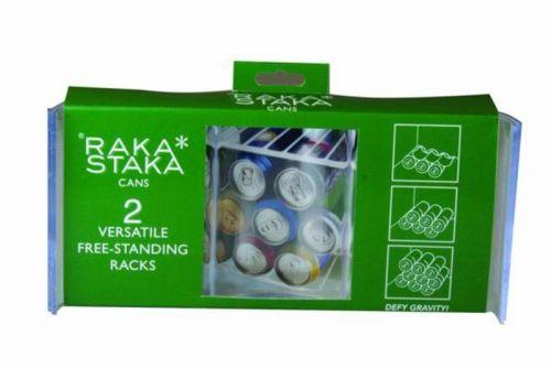 Raka Staka Set of 2 Cans Versatile Racks