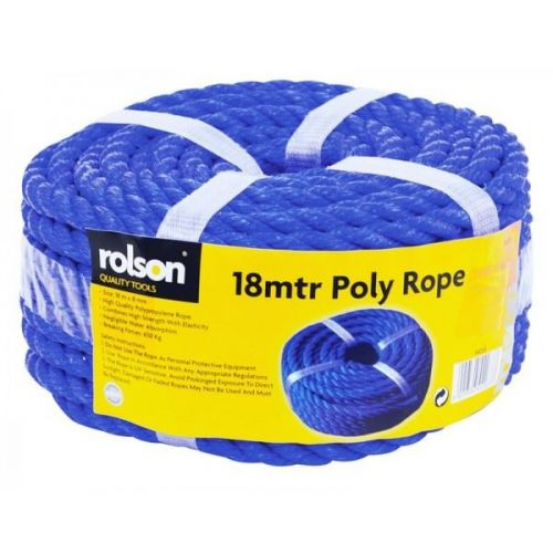 Rolson Quality 18mtr Poly Multi Purpose Rope